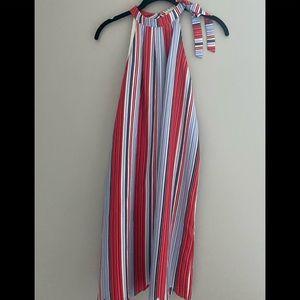 Maison Jules striped slip dress